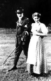Зигмунд и Анна Фрейд, 1913