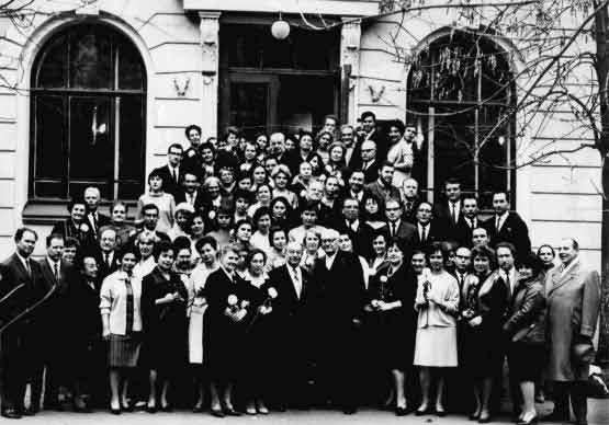 Коллектив Психологического института (НИИ ОПП АПН СССР)