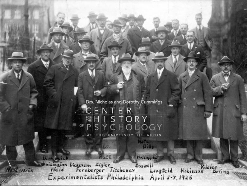 Ежегодное собрание SEP, 1926