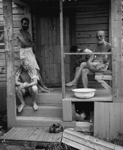 Зигмунд Фрейд и Карл Юнг, 1907