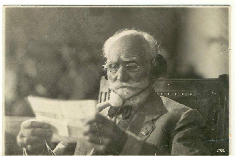 Павлов на конгрессе физиологов (1935)