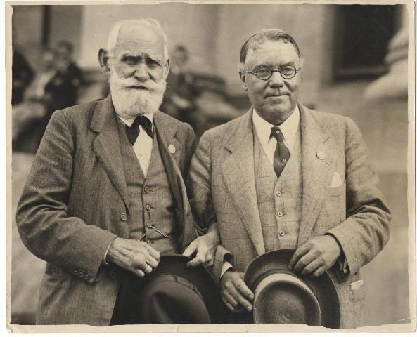 Павлов и Кеннон на конгрессе физиологов