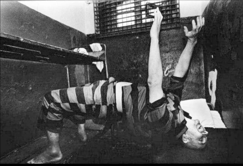 Андрей Чикатило в тюрьме