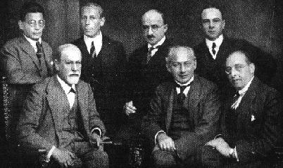 Фрейд и другие, 1922